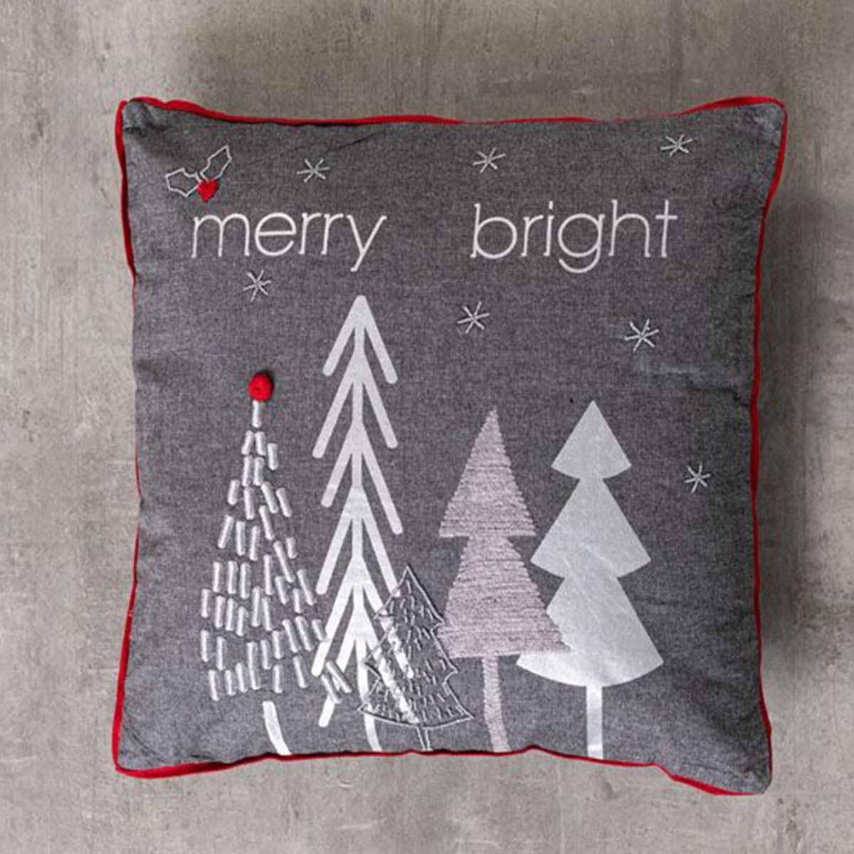 Διακοσμητικό Μαξιλάρι Merry Bright