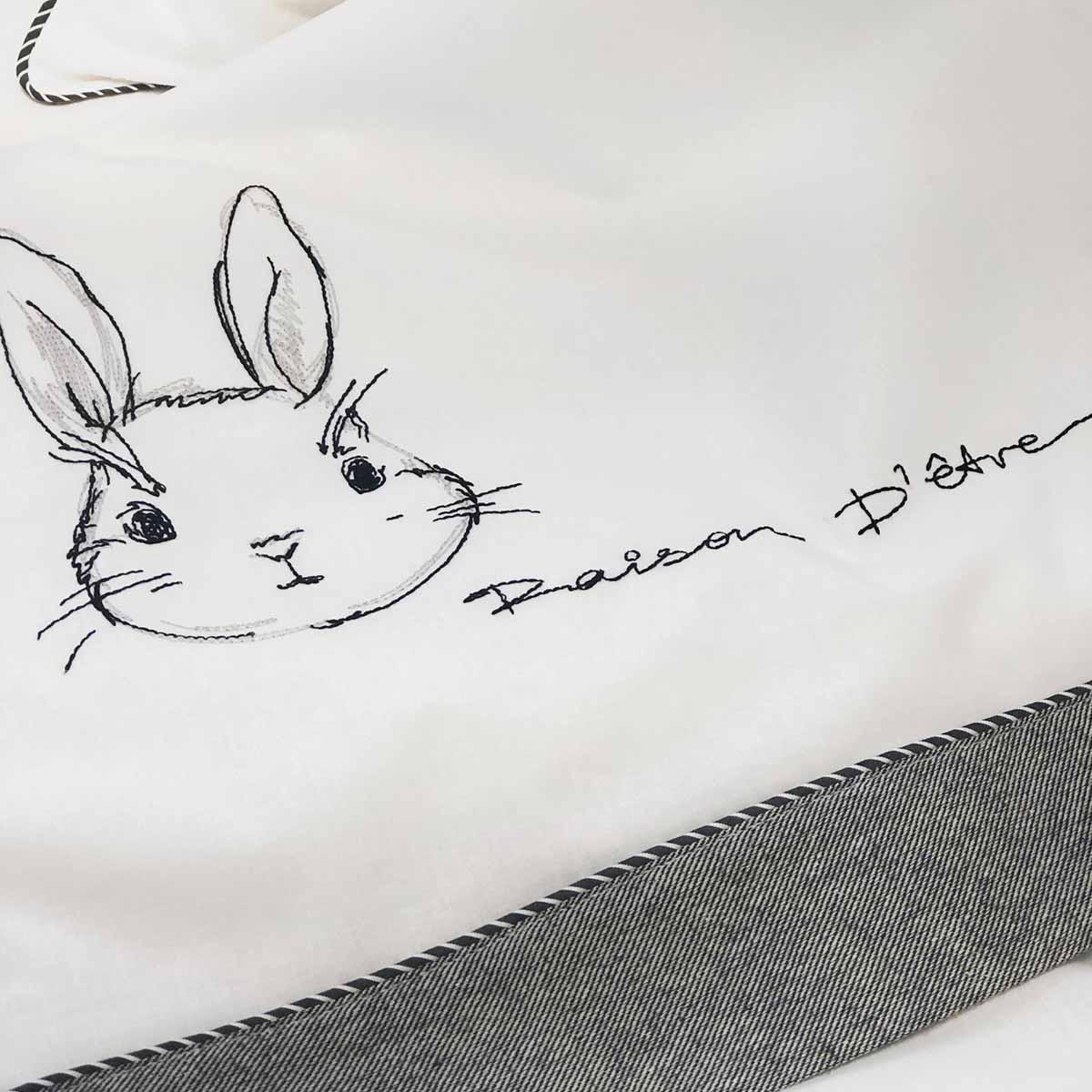 Σετ Σεντόνια Κούνιας Rabbit