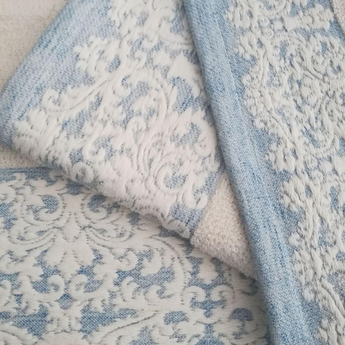 Πετσέτα Μπάνιου Μπλε L821