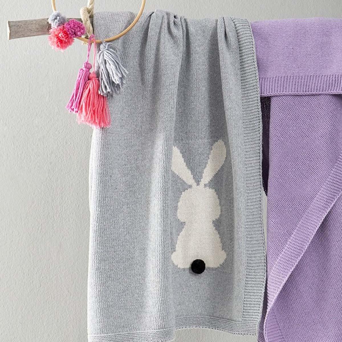 Κουβέρτα Λίκνου Honey Bunny