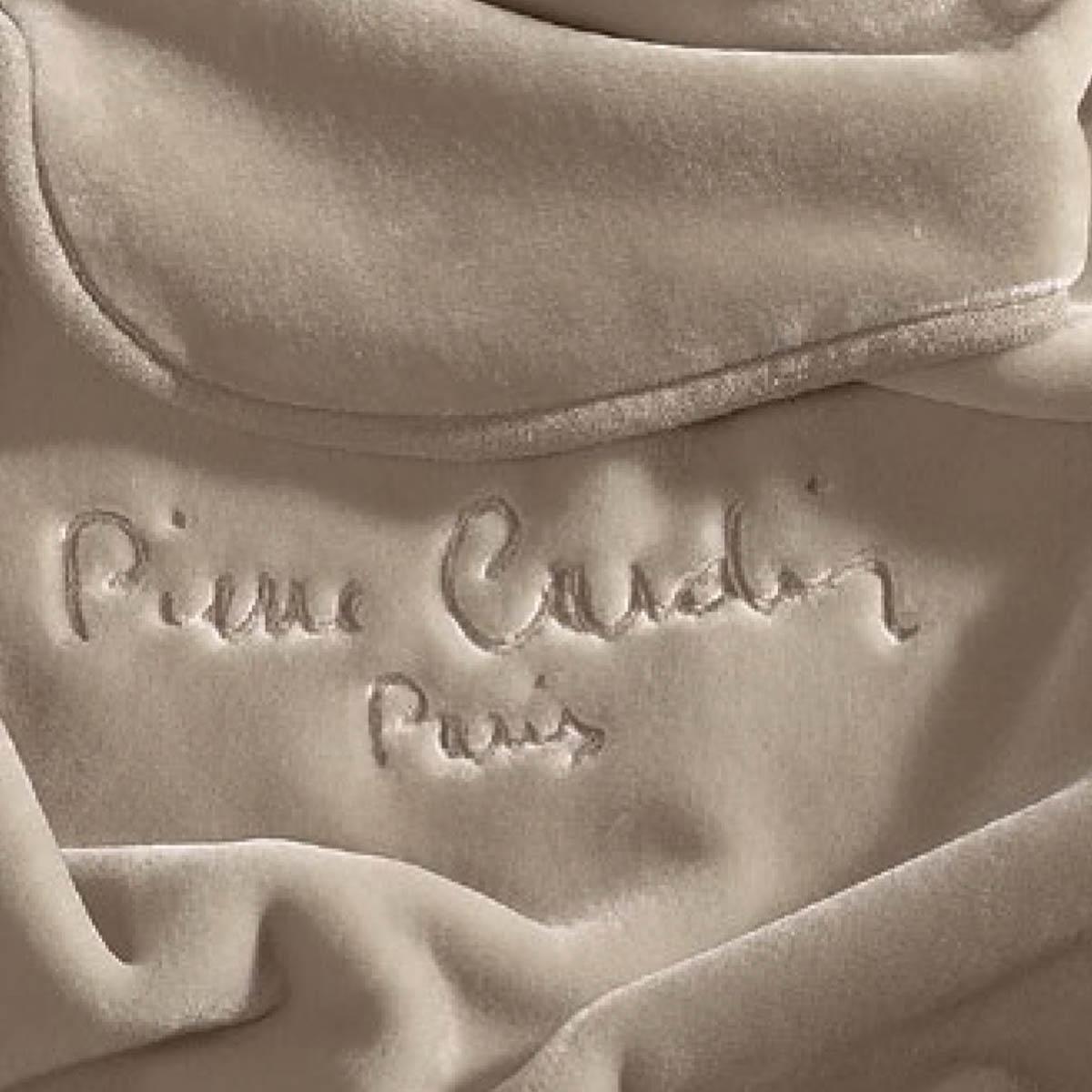 Κουβέρτα Υπέρδιπλη Pierre Cardin Taupe